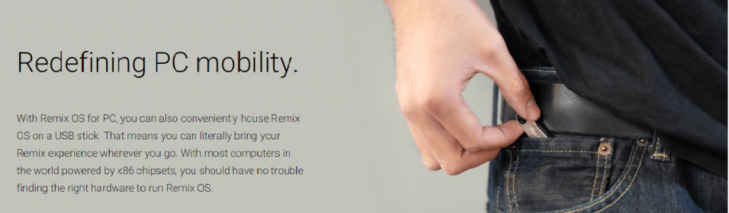 Bootable Remix OS