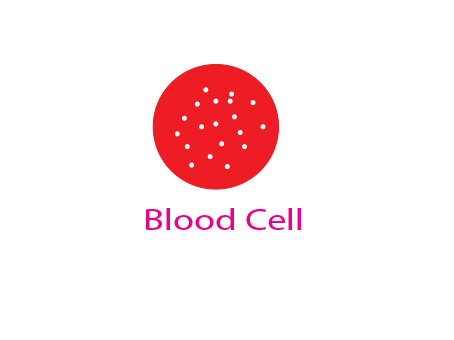 Blood Cell logo..