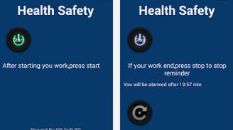 Health Safety - Android Apps কম্পিউটার ব্যবহারকারীর স্বাস্থ্য সুরক্ষায় 'হেলথ সেফটি'