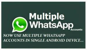 multiple whatsapp