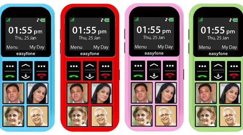 শিশুদের জন্য মোবাইল: ইজিফোন 1